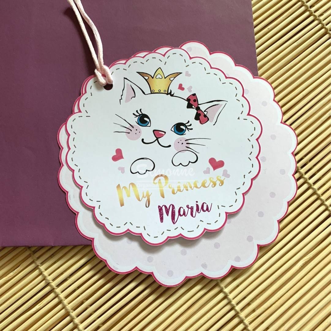 Invitatie Botez Pisica My Princess
