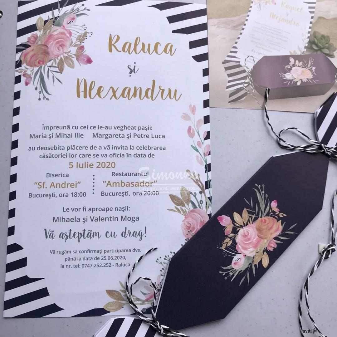 Invitatie Nunta Bomboana