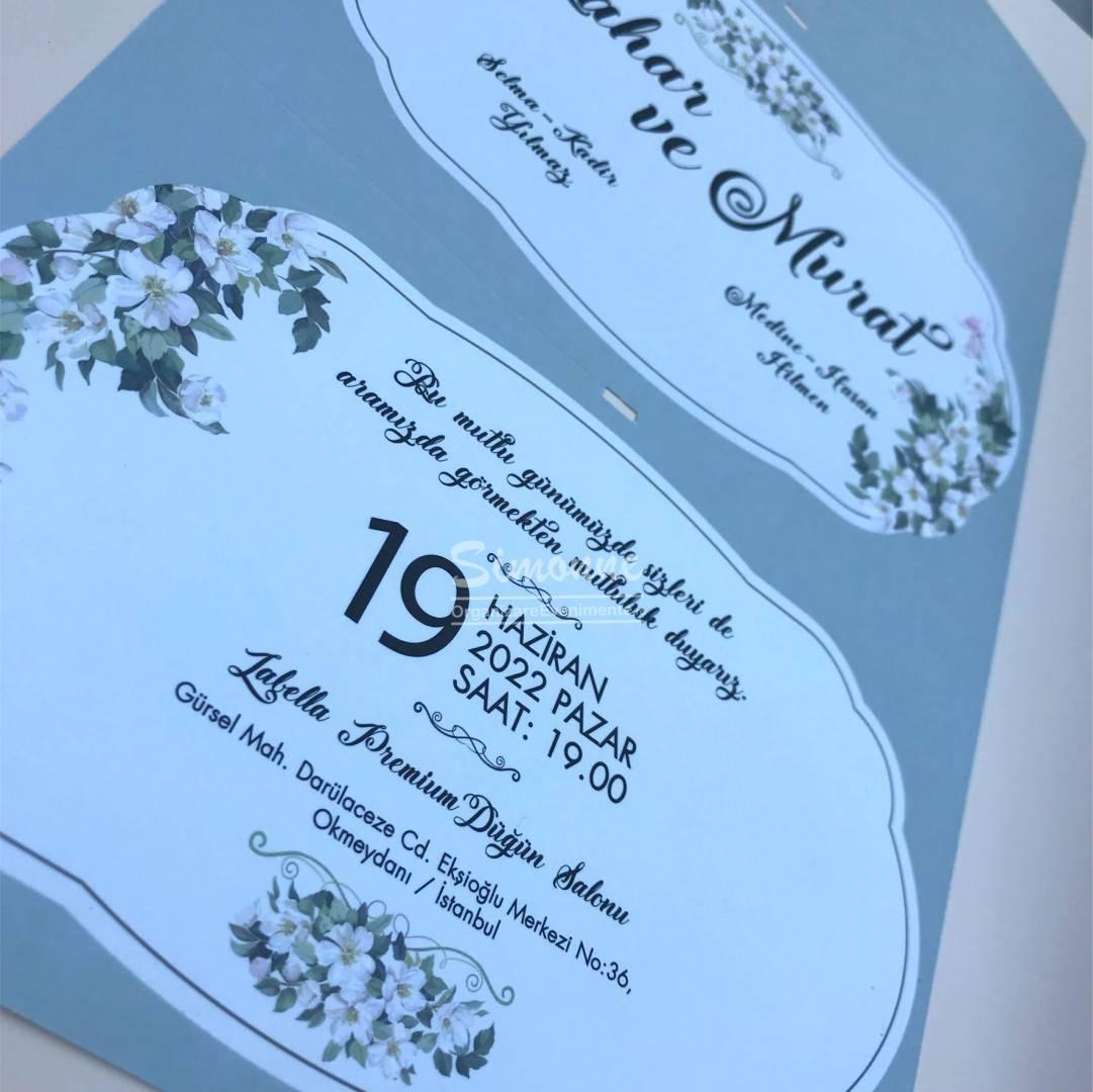 Invitatie Nunta Cu Flori De Cires