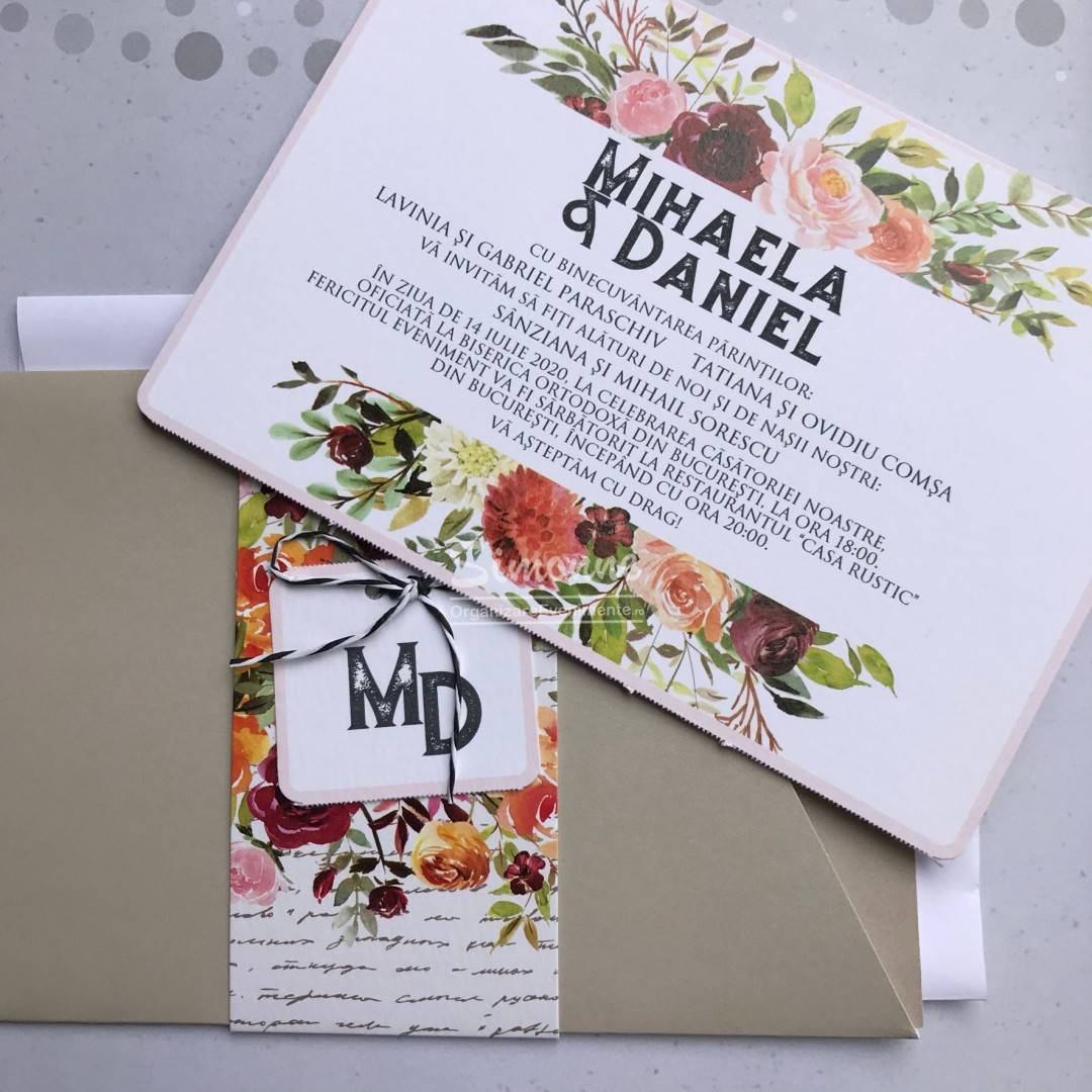 Invitatie Nunta Moderna