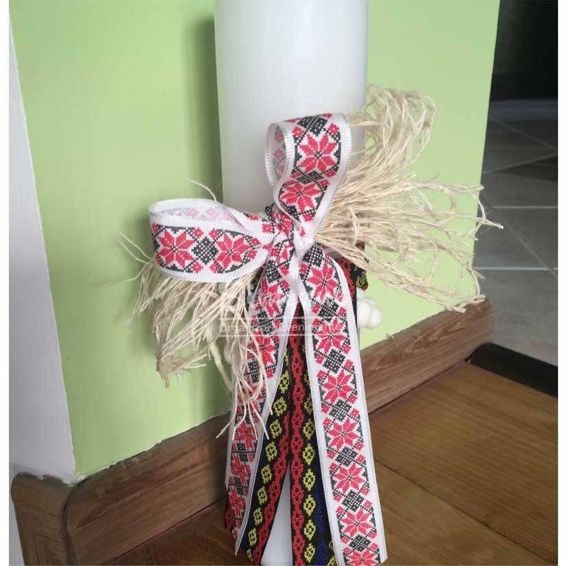 Lumanare Nunta Botez Traditionala