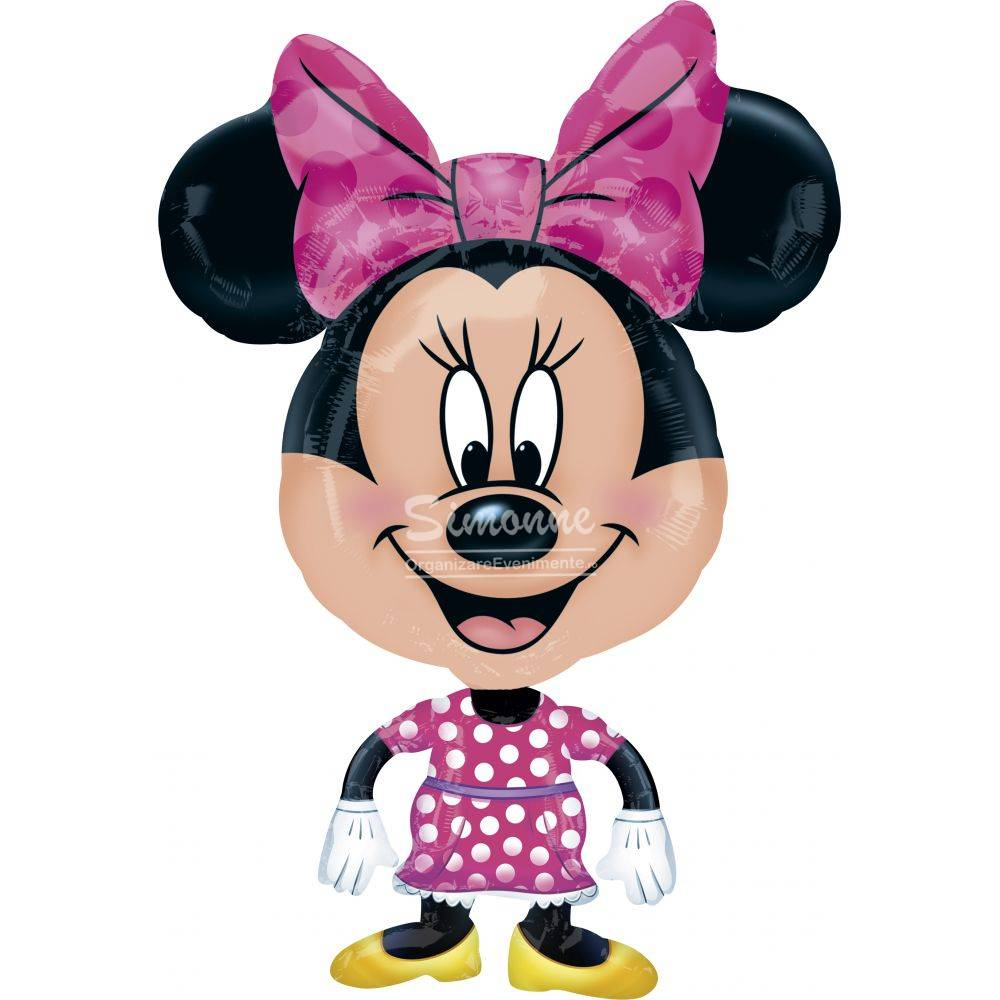 Folie figurina Minnie Mouse