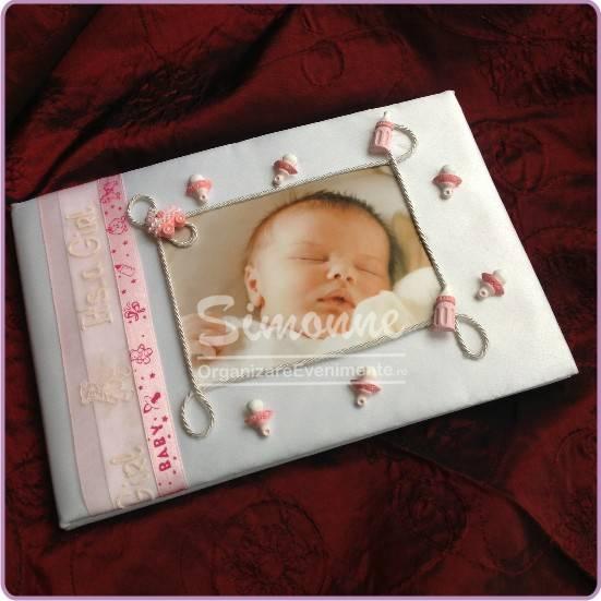 Carte de oaspeti botez fetita