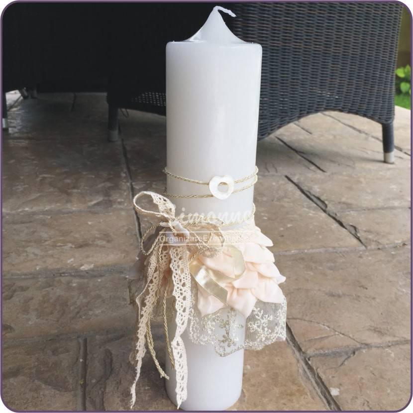 Lumanare botez Printesa