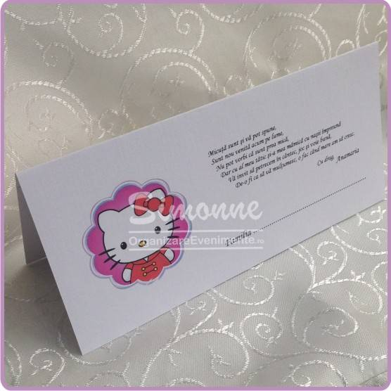 Plic card de bani Hello Kitty