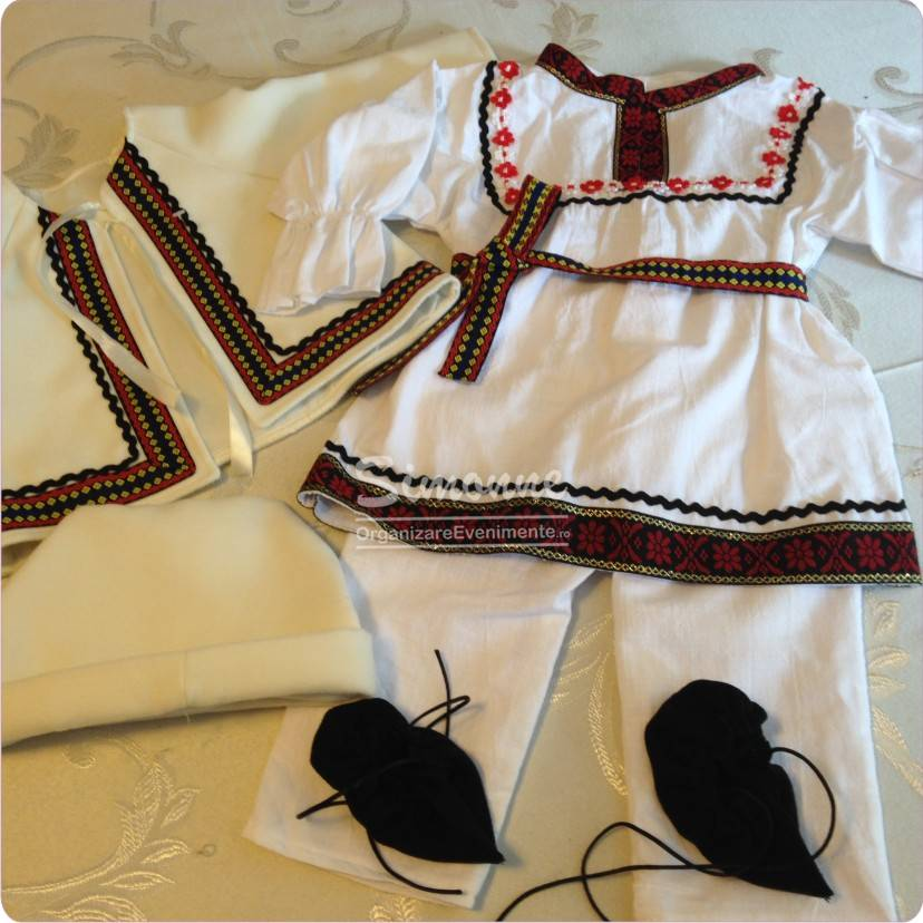 Costumas traditional botez baietel