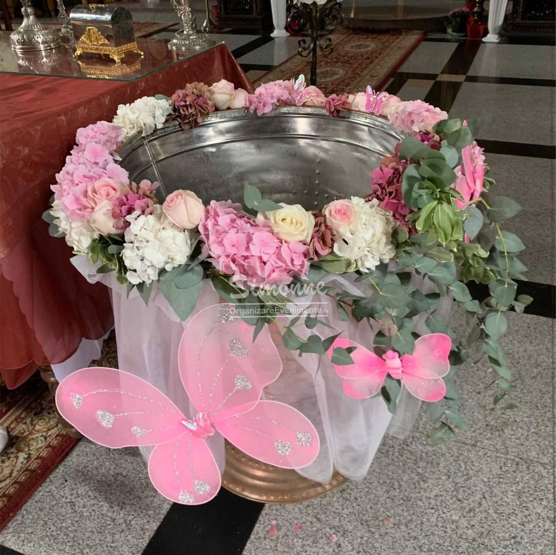 Aranjament decor cristelnita Pink