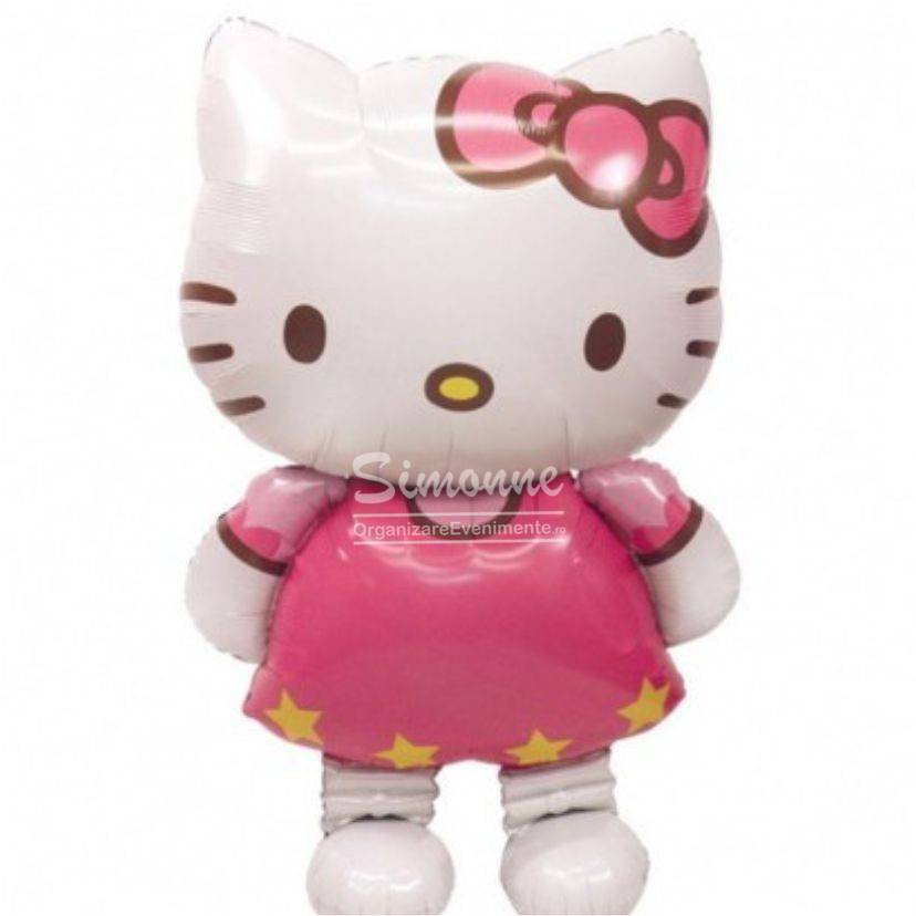 Balon figurina airwalker Hello Kitty