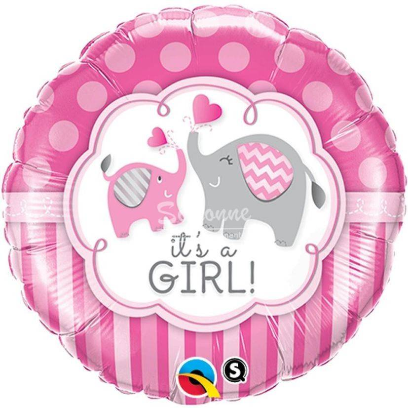 Balon folie metalizata its a girl