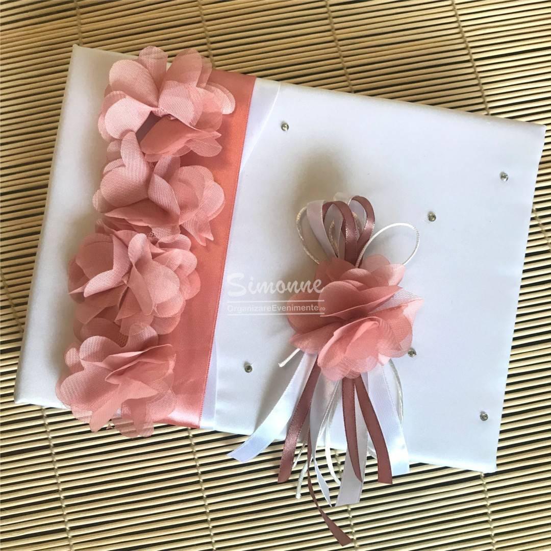 Guestbook nunta botez cu floricele