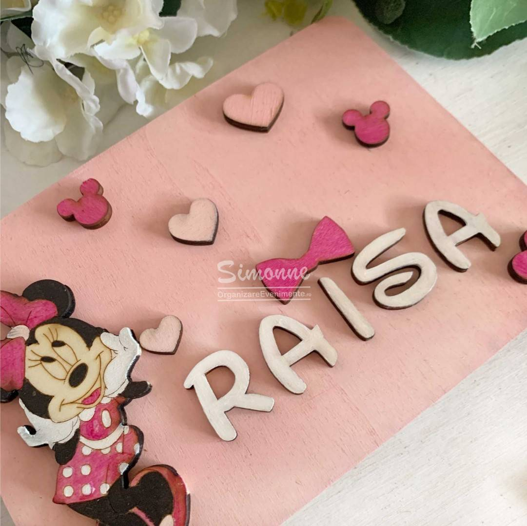 Caiet de amintiri, guestbook, Minnie Mouse