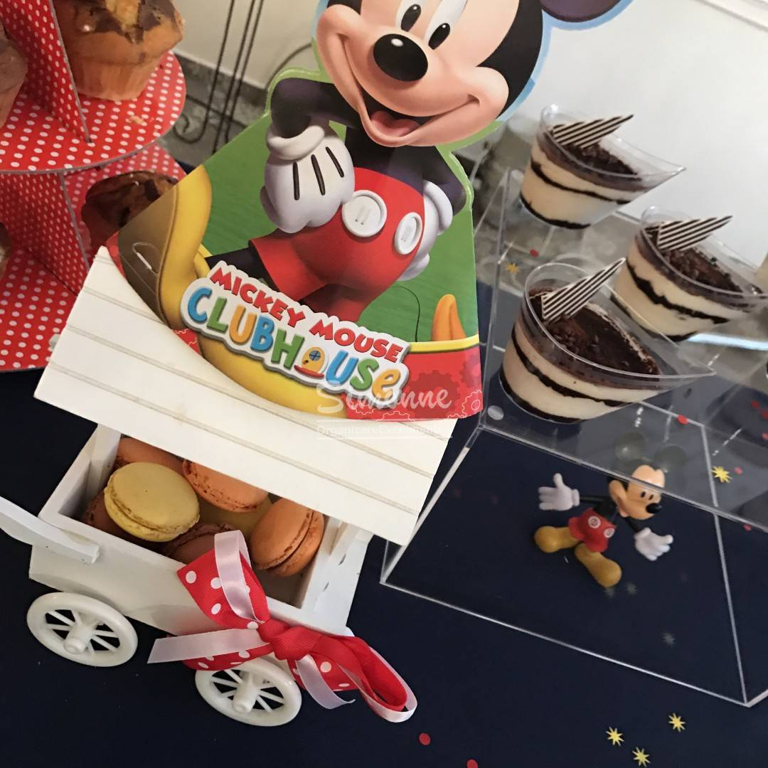 Candy Cake Fruit Bar Mickey Mouse