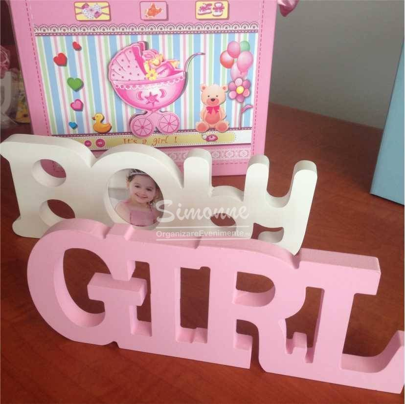 Litere Decorative botez GIRL BOY